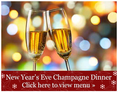 New Year's Eve Champagne Dinner